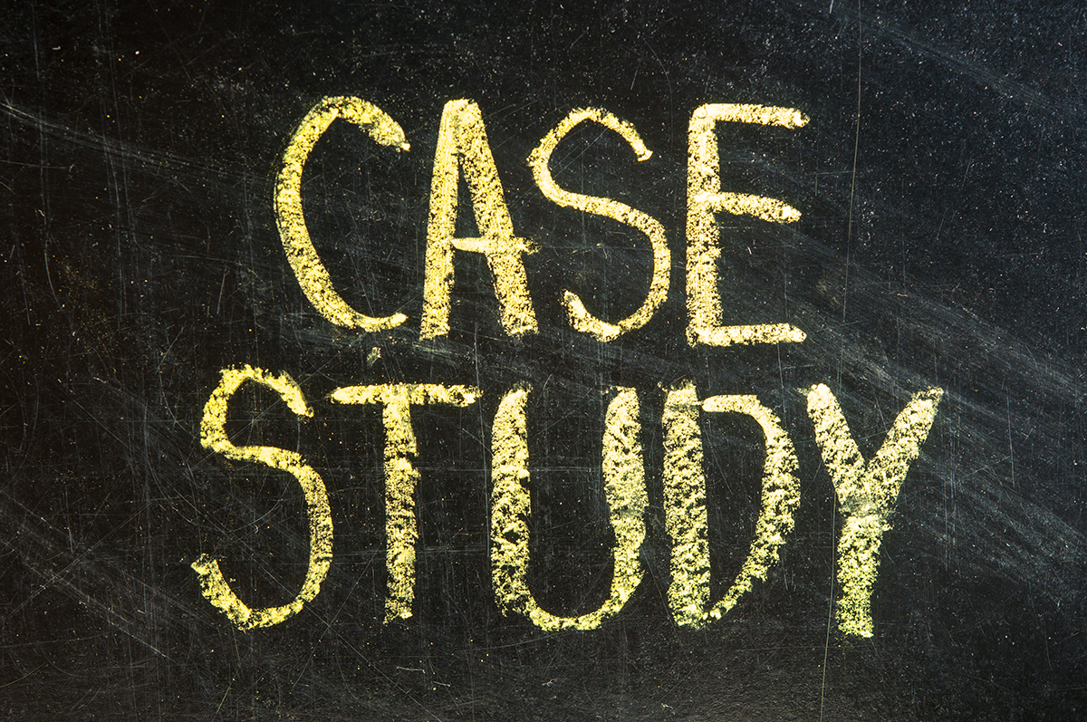 Chalk drawing - Case study