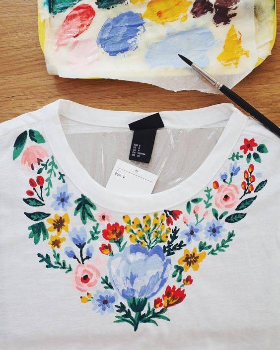 мода от улицата: handmade тениска
