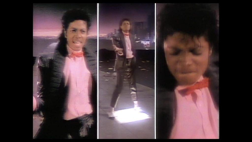 първият split screen в музикален клип